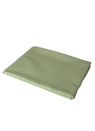 Bella Maison %100 Pamuk Ranforce Somon Tek Kişilik Lastikli Çarşaf (100x200 cm) Yeşil